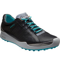 Women's BIOM Golf Hybrid Spikeless Golf Shoes - Black/Turquoise