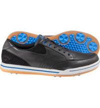 Men's Del Mar Spikeless Golf Shoes - Black/Black