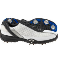 Men's Chev Aero Golf Shoes - White/Black