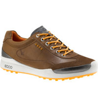 Men's BIOM Hybrid Spikeless Golf Shoes - Camel/Fanta