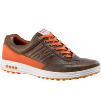 Men's Street Evo One Spikeless Golf Shoes - Birch/Burnt Orange