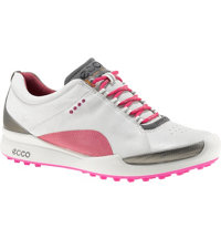 Women's BIOM Golf Hybrid Spikeless Golf Shoes - White/Fandango
