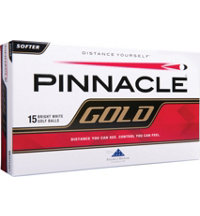 Personalized Gold 15-Pack Golf Balls