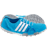 Women's Clima Cool Ballerina Spikeless Golf Shoe - Blue/White/Silver