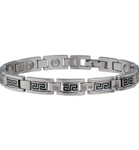 Lady Greek Key Stainless Bracelet