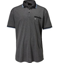 Men's Big & Tall Chevron Pocket Short Sleeve Polo