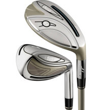 Lady New Idea 4H-6H, 7-PW, SW Combo Iron Set with Graphite Shafts