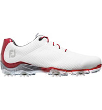Men's Closeout D.N.A. Golf Shoes - White/Red (FJ# 53424)