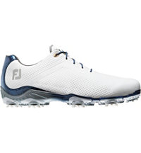 Men's Closeout D.N.A. Golf Shoes - White/Navy (FJ# 53437)