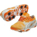 Puma Men's BioFusion Sky Golf Shoes - Vibrant Orange