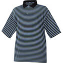 FootJoy Men's Stretch Lisle Pique Stripe Polo
