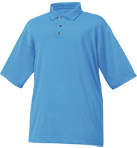 Men's Stretch Lisle Stripe Knit Collar Polo