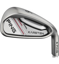 Karsten 5-PW Iron Set with Steel Shafts - Black Dot