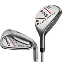 Karsten 4H-5H, 6-PW, UW Combo Iron Set with Graphite Shafts - Green Dot Plus 1
