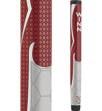 WinnPro X 1.18 Putter Grip - Red/Cool Grey