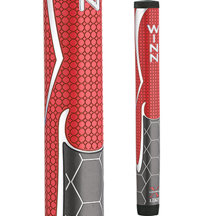 WinnPro X 1.32 Putter Grip - Red/Grey