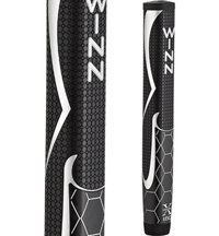 WinnPro X 1.60 Putter Grip - Black/Silver