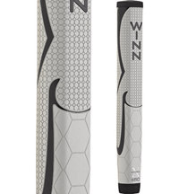 WinnPro X 1.60 Putter Grip - Cool Grey/Black