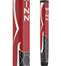WinnPro X 1.60 Putter Grip - Red/Black