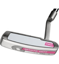 Lady White Hot Pro Blade Putter