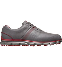 Men's DryJoys Casual Spikeless Golf Shoes - Grey/Red