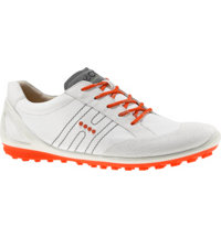 Men's BIOM Zero Spikeless Golf Shoes - White/Fire