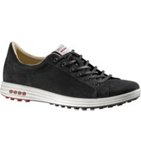 Men's EVO Street Camel Spikeless Golf Shoes - Black