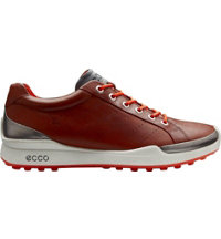 Men's Biom Golf Hybrid Spikeless Golf Shoes - Mahogany/Fire