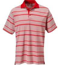 Men's Dry-18 Yarn Dyed Stripe Short Sleeve Polo