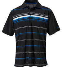 Men's Dry-18 Engineer Stripe Short Sleeve Polo