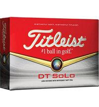 DT Solo Golf Balls
