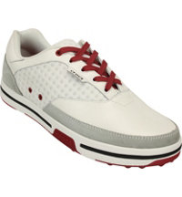 Men's Drayden 2.0 Spikeless Golf Shoes White/Red