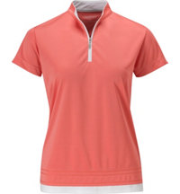 Women's Y-Neck Short Sleeve Polo