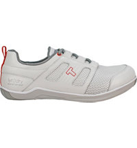 Men's TRUE LYT Dry Spikeless Golf Shoe-White/Salmon