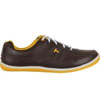Men's TRUE VEGAS Spikeless Golf Shoe-Brown/Orange
