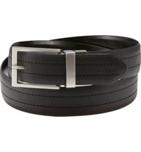 Men's Reversible Contrast Stitch Belt