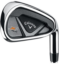 X2 Hot 4-PW, AW Iron Set with Steel Shafts