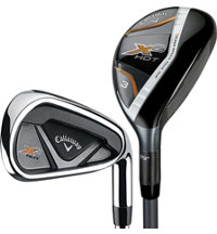 X2 Hot 3H, 4H, 5-PW Combo Iron Set with Steel Shafts