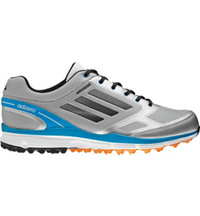 Men's adizero Sport II Golf Shoes - Metallic Silver/Carbon/Solar Blue