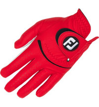Men's Spectrum Golf Glove - Red