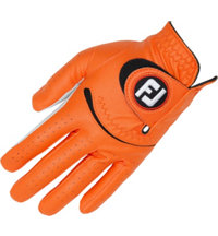 Men's Spectrum Golf Glove - Orange