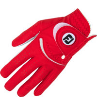 Women's Spectrum Golf Glove - Red