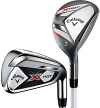 X Hot N14 3H, 4H, 5-PW Combo Iron Set with Steel Shafts