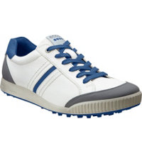 Men's Golf Street Spikeless Golf Shoes - White/Titanium/Royal