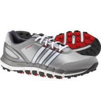 Men's Pure 360 Gripmore Sport Spikeless Golf Shoes - Light Onyx/White/Light Scarlet