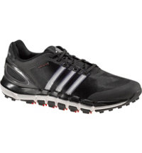 Men's Pure 360 Gripmore Sport Spikeless Golf Shoes - Black/Metallic Silver/Light Scarlet