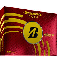 Personalized B330-RX Yellow Golf Balls