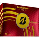 Bridgestone Personalized B330-RX Yellow Golf Balls