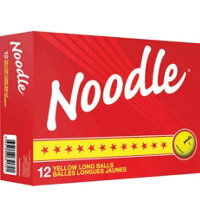Noodle Long Yellow Golf Balls