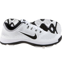 Men's Lunar Cypress Spikeless Golf Shoes - White/Wolf Grey/Black